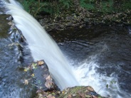 The Waterfall at Carrs Wood Oct 2012